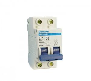 MS47-63 Series Miniature Circuit Breaker