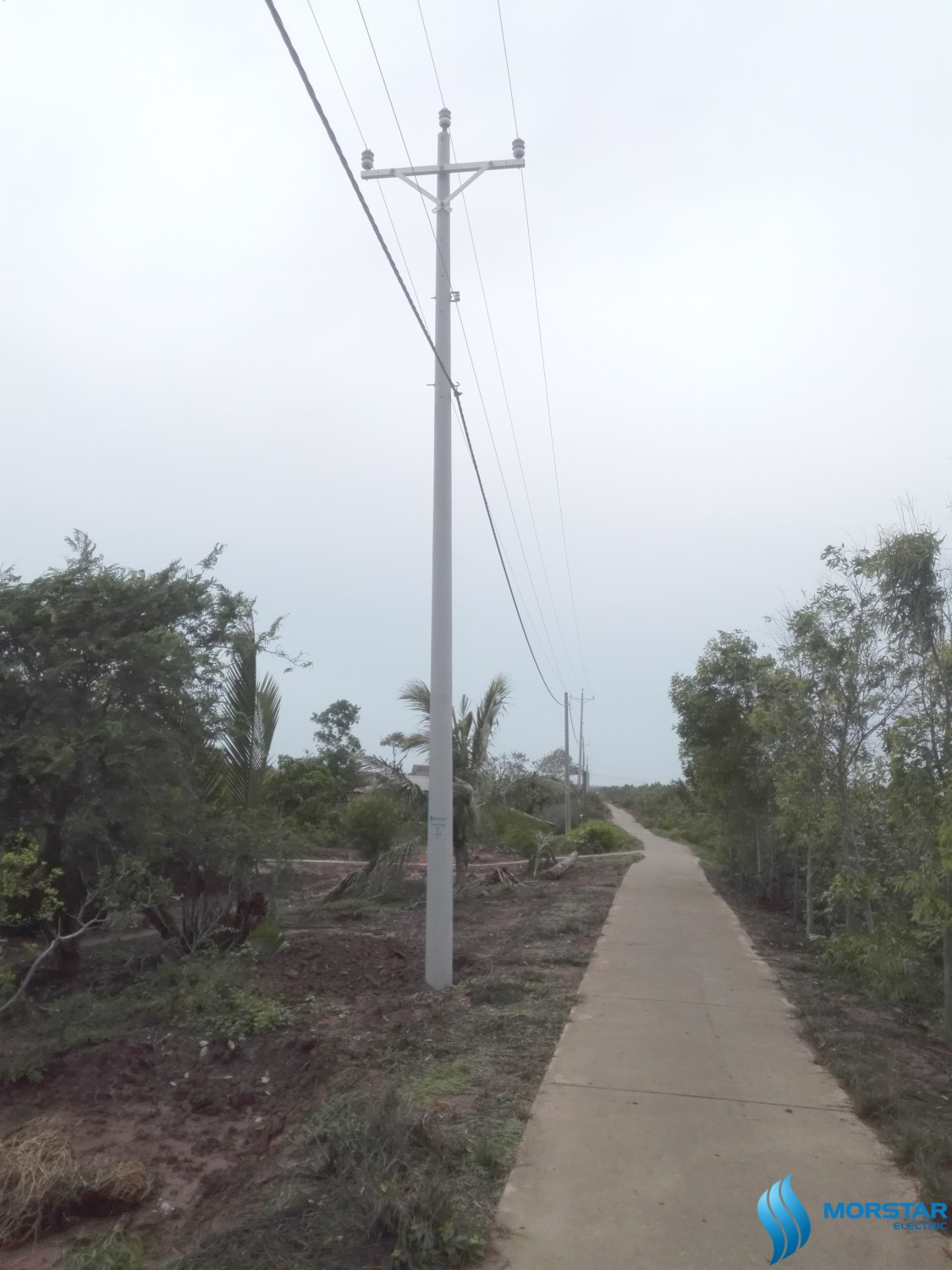 FRP Pole composite, power pole composite, composite material, morstar
