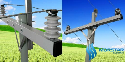 da composite, FRP crossarm, composite material, power, electric, power pole, morstar