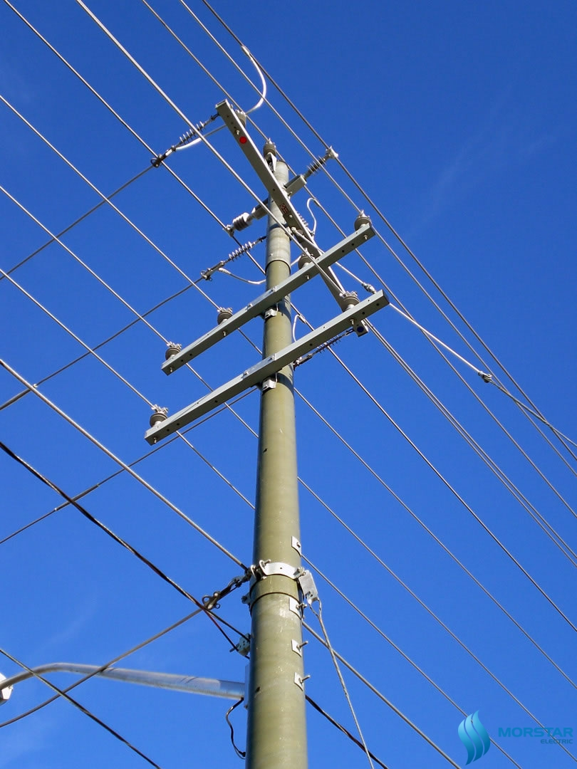 tru doi composite da composite, FRP Pole composite, power pole composite, composite material, morstar, double power pole composite