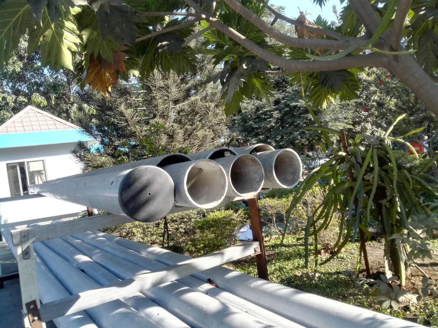 composite power poles double style